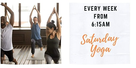 FREE Saturday Yoga at Studio Village Community Centre tickets