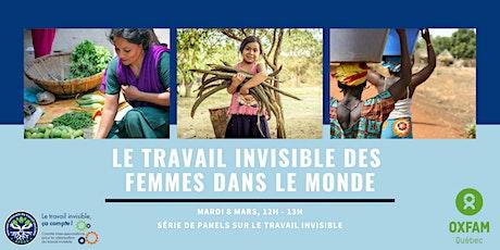 Le travail invisible des femmes dans le monde billets
