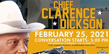 Black Lives In Blue: Conversation & Doc. Screening  Chief Clarence Dickson tickets