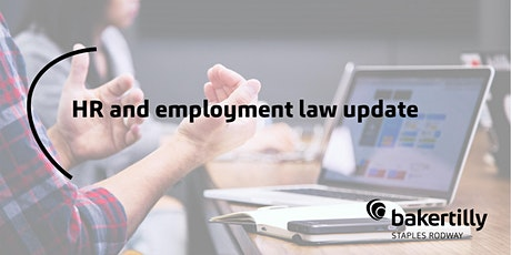 HR and Employment Law Update tickets