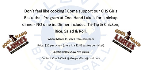 Cool Hand Luke's grab and go dinner tickets