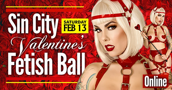 Sin City - Feb 13 - Zoom Party Access Ticket image