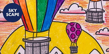 Hot Air Balloons - Art Kids Academy - Art Class for Kids - Ages 4+ tickets