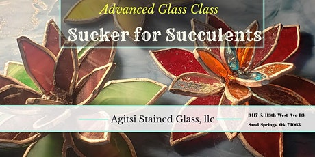 Sucker for Succulents, Stained Glass Advanced Class tickets