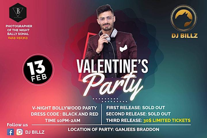 V-Night Bollywood Party image