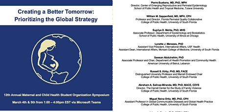 "MCHSO 2021 Symposium - ""Prioritizing the Global Strategy"" tickets"