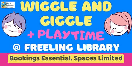 Wiggle and Giggle + Playtime @ The Freeling Library tickets