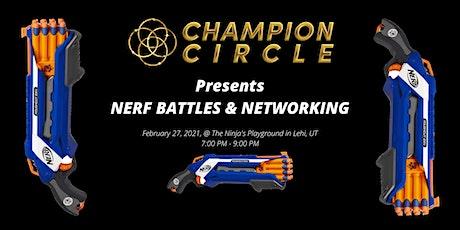 NERF BATTLE & NETWORKING @ NINJA'S PLAYGROUND tickets