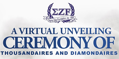 A Virtual Unveiling Ceremony of Thousandaires and Diamondaires tickets