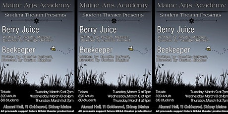 Maine Arts Academy One Acts Evening tickets