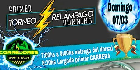 PRIMER TORNEO RELÁMPAGO RUNNING 3k entradas