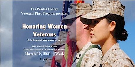 #UnstoppableWomenVeterans  - LPC Honoring Women Veterans tickets