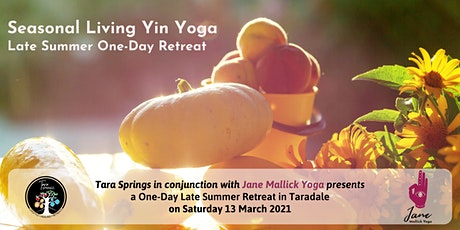 Seasonal Living Yin Yoga Late Summer: One-Day Retreat tickets