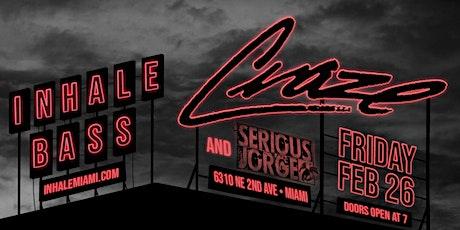 Inhale Bass with Craze tickets
