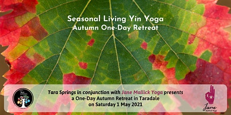 Seasonal Living Yin Yoga Autumn: One-Day Retreat tickets