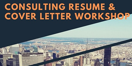 Consulting Resume and Cover Letter Workshop tickets