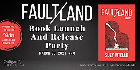 Faultland by Suzy Vitello, Book Launch and Release Party tickets
