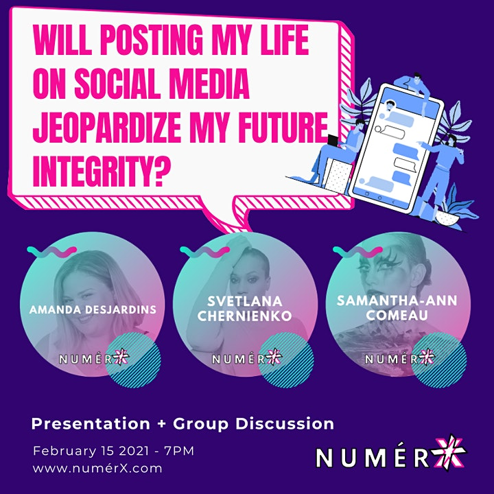 Will posting my life on social media jeopardize my future integrity? image