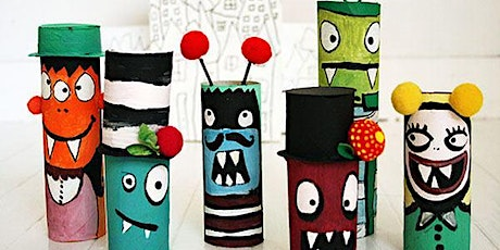 LITTLE MONSTERS (mixed media) for 5-8 year olds tickets