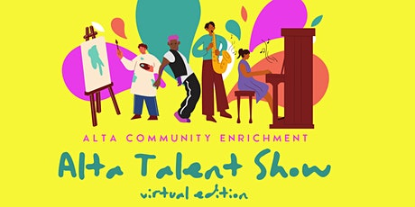 Alta Talent Show- Virtual Edition tickets