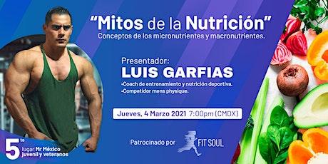Mitos de la Nutrición - Conceptos de los micronutrientes y macronutrientes entradas