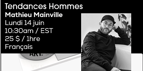 MEN'S TRENDS CUTTING with Mathieu Mainville  / French tickets