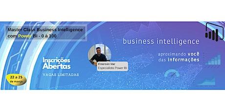 Master Class Business Intelligence com Power BI - 0 à 100 bilhetes