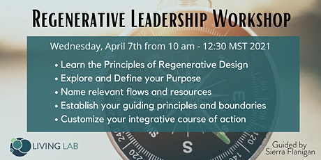 Regenerative Leadership Workshop tickets