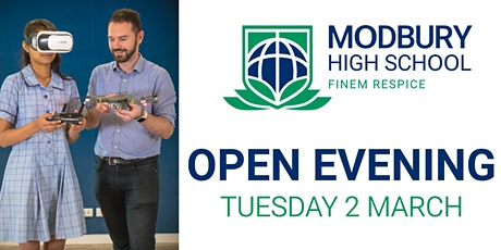 Modbury High School Open Evening tickets