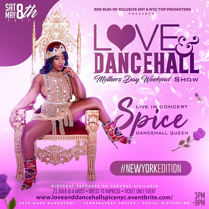 Love & Dancehall Featuring Dancehall Queen ( SPICE ) image