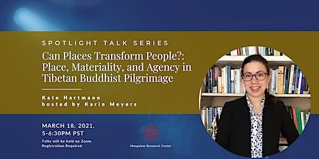 Can Places Transform People?: Tibetan Buddhist Pilgrimage tickets