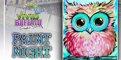 Cute Owl Paint Night @ Buffalo RiverWorks tickets