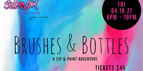 Brushes & Bottles tickets