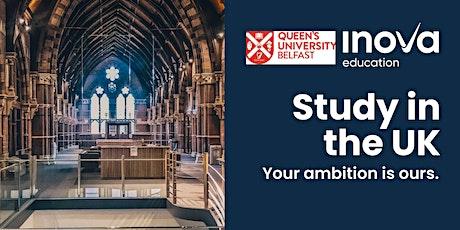 Estudia en la Universidad de Queens Belfast - sesión informativa en línea entradas