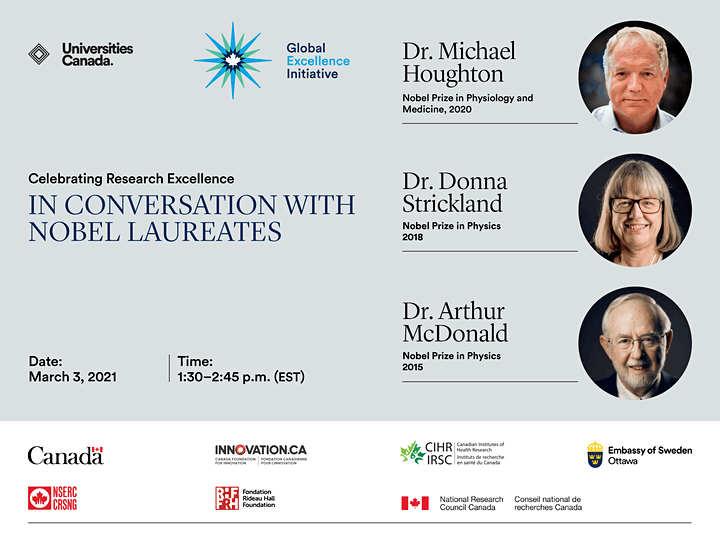 Celebrating Research Excellence: In conversation with Nobel Laureates image