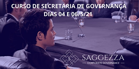 SECRETARIA DE GOVERNANÇA CORPORATIVA ingressos