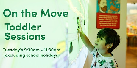 On the Move - Toddler Sessions tickets