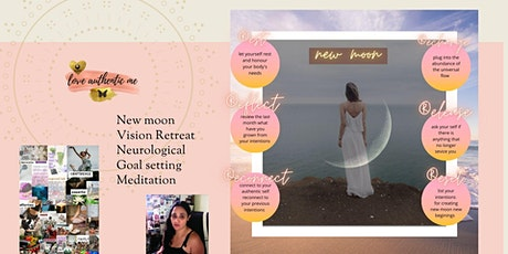New Moon in Aries magic manifesting neurological  goal setting ceremony tickets