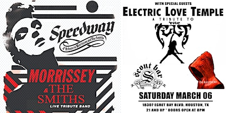 SPEEDWAY- a tribute to The Smiths & Morrissey + Electric Love Temple tickets