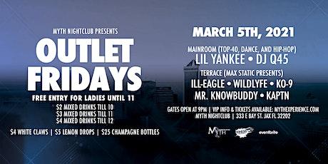 Outlet Fridays at Myth Nightclub | Friday 3.5.21 tickets