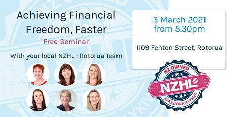 Financial Freedom, Faster - Rotorua tickets