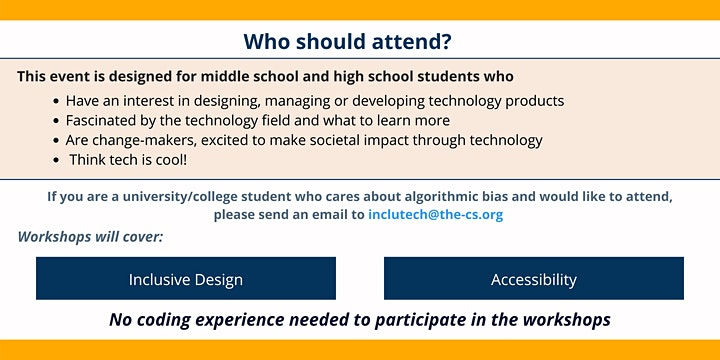 IncluTech at The Coding School Presents: Inclusive Design Workshop Day image