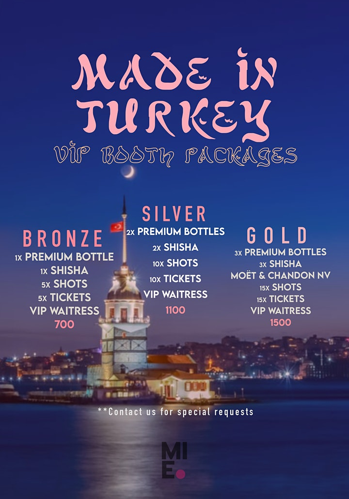 Made In Turkey - Friday 12 March image