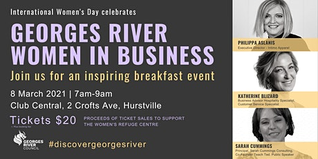 International Women's Day celebrates Georges River Women in Business tickets