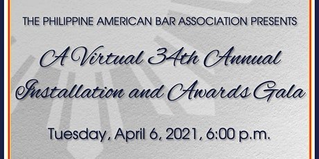 PABA's 34th Annual Installation & Awards Virtual Gala tickets