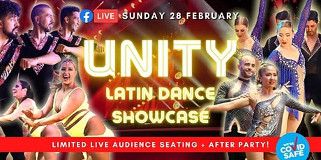 UNITY: Latin Dance Shows - Free FB Live Stream SUN 28 tickets
