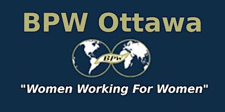 BPW Ottawa Virtual Annual General Meeting tickets