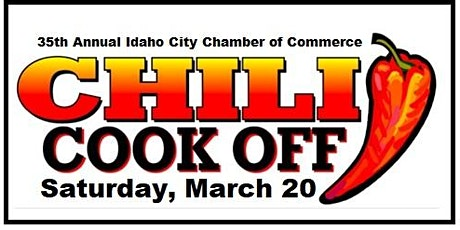 35th Annual Idaho City Chili Cook Off tickets