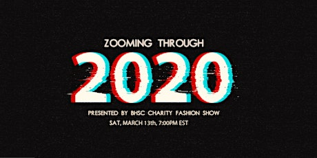 BHSc Charity Fashion Show: Zooming through 2020  tickets