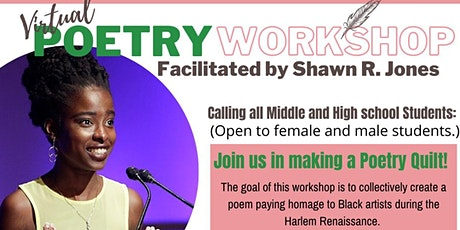 Poetry Quilt Workshop facilitated by Shawn R. Jones tickets